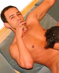 Smokin Latino Twinks love each others cocks and...